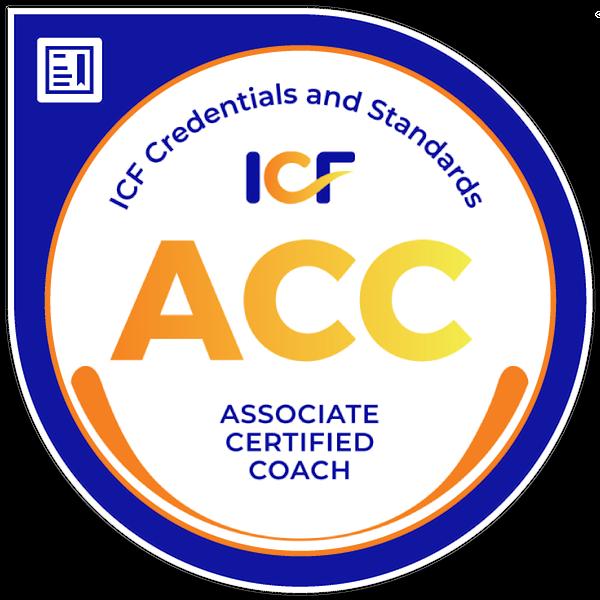 Associate Certified Credential (ACC) digital badge